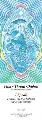 5th - Throat Chakra<br>I Speak  #63<br />Bookmark
